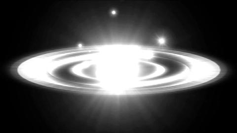 dazzling explosion rays light & rotation sci-fi... Stock Video Footage
