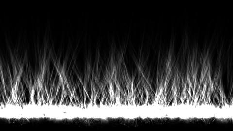 white fire lines,magnetic field Animation