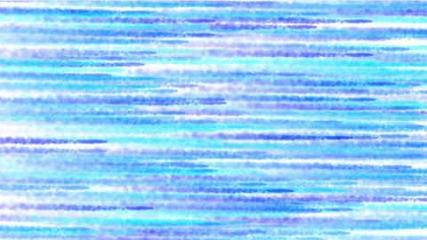 abstract blue crayon parallel streak & smoke background Stock Video Footage