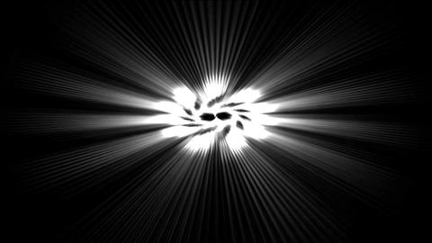 rotate power rays laser energy field in space Stock Video Footage