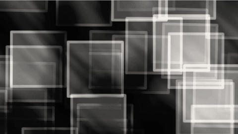 glass square & mosaic debris background,flash light Animation