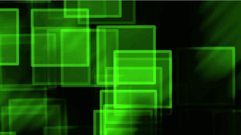 glass green square & mosaic debris background,flash... Stock Video Footage
