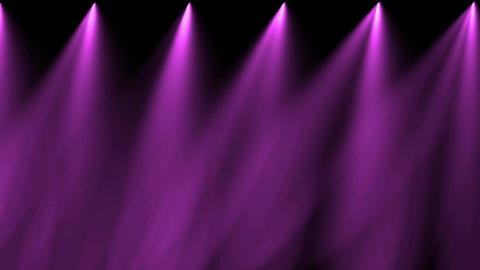 stage purple light & smoke Stock Video Footage