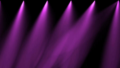 Stage Purple Light & Smoke stock footage