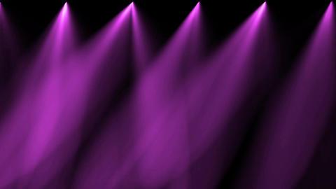 stage purple light & smoke Stock Video Footage