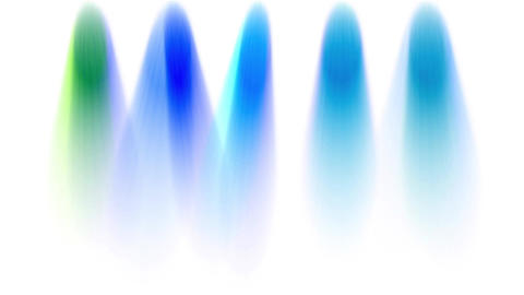 stage color light & smoke Animation