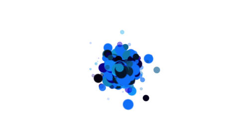 abstract circles,bubble & blister array,dancing dots & particles Animation