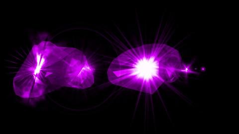 purple sapphire & diamonds Stock Video Footage