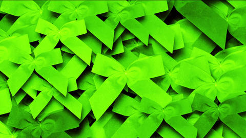 green bow-knot background,chrismas & holiday decoration Animation