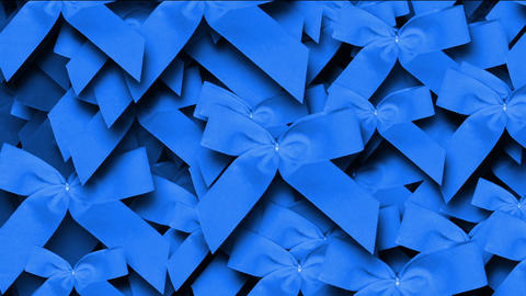 blue bow-knot background,chrismas & holiday decoration Stock Video Footage