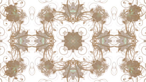 flower pattern background,Oriental style Animation