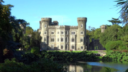Johnstown Castle 2 Stock Video Footage