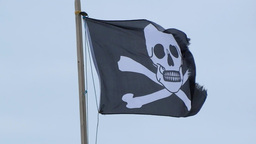 The Jolly Roger Stock Video Footage