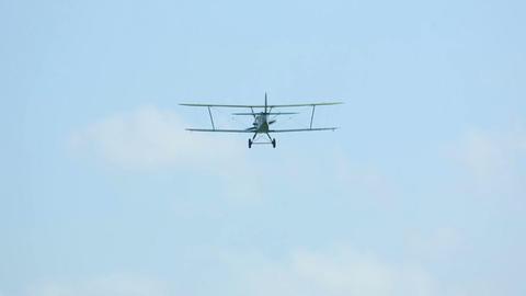 Biplane Footage