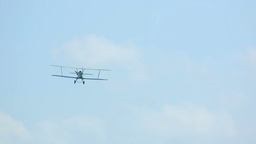 Biplane Stock Video Footage