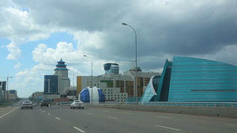 In Astana Stock Video Footage