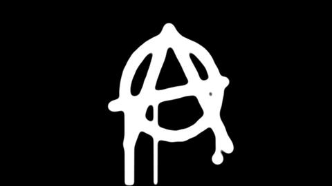 Anarchy - Freedom - Peace Mask Animation