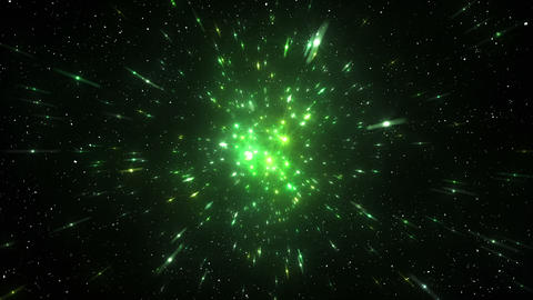Star Field Space flash c 2b HD Animation