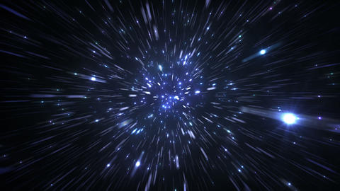 Star Field Space flash c 3c HD Animation