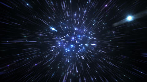 Star Field Space flash c 3c HD Stock Video Footage