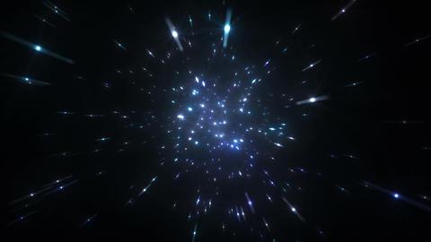 Star Field Space flash c 4b HD Animation