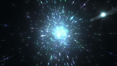 Star Field Space flash c 4b HD Stock Video Footage