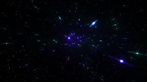 Star Field Space flash d 1a HD Stock Video Footage
