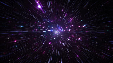 Star Field Space flash d 1c HD, CG動画素材