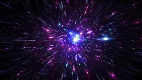 Star Field Space flash d 1c HD 動画素材, ムービー映像素材