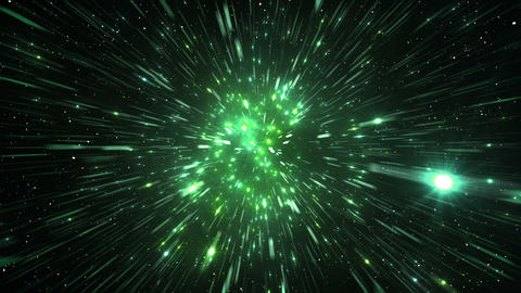 Star Field Space tunnel c 1c HD Stock Video Footage