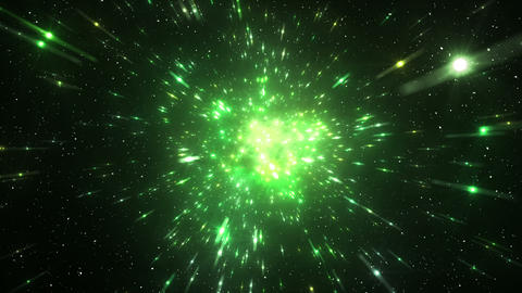 Star Field Space tunnel c 2b HD Stock Video Footage