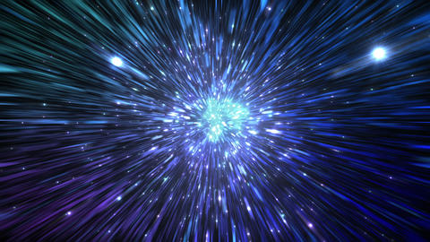 Star Field Space tunnel c 3a HD Stock Video Footage