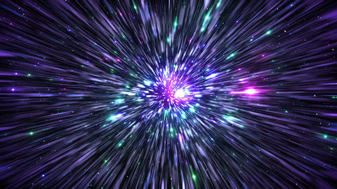 Star Field Space tunnel d 1a HD Stock Video Footage