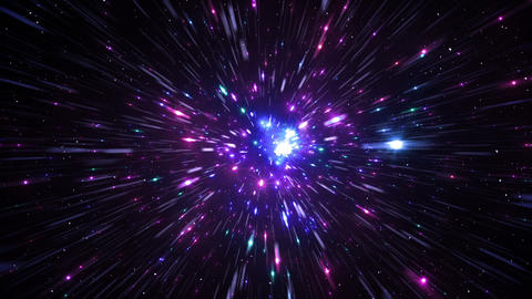 Star Field Space tunnel d 1c HD Stock Video Footage