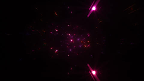 Star Field Space tunnel d 3a HD Stock Video Footage