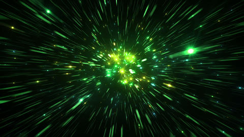 Star Field Space tunnel d 3c HD Stock Video Footage