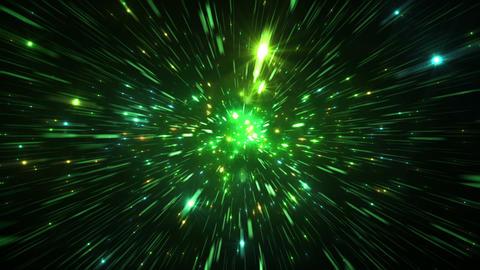 Star Field Space tunnel d 3c HD CG動画