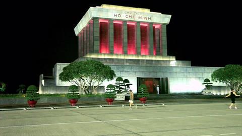 HANOI - HO CHI MINH MAUSOLEUM Footage