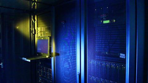 Server room Stock Video Footage