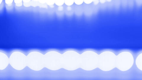 Abstract blue background and white lights Stock Video Footage