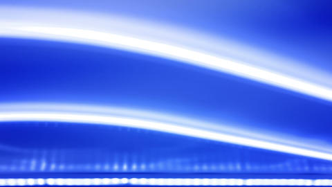 Abstract blue background and white light Footage