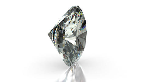 Cushion Cut Diamond Stock Video Footage