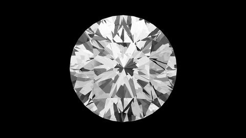 Round Cut Diamond Stock Video Footage