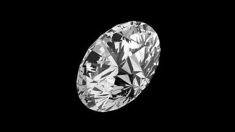 Round Cut Diamond Stock Video Footage