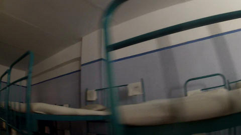 Bunk beds Stock Video Footage