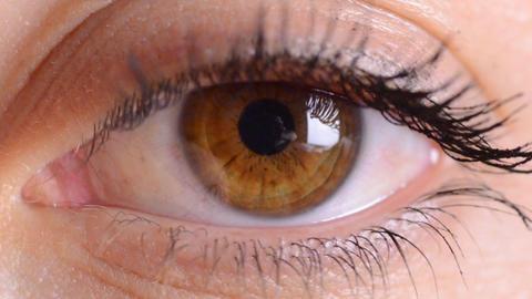 eye macro...zoom in Stock Video Footage