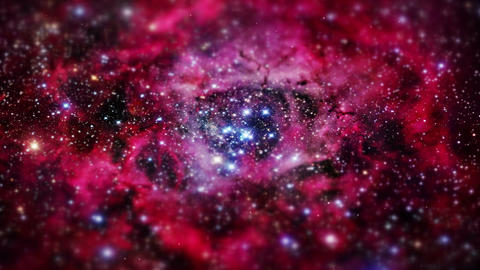Exposure Galaxy supernova Astronomy Nebula Stars S Stock Video Footage