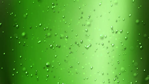green apple juice Animation