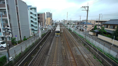 電車 Stock Video Footage