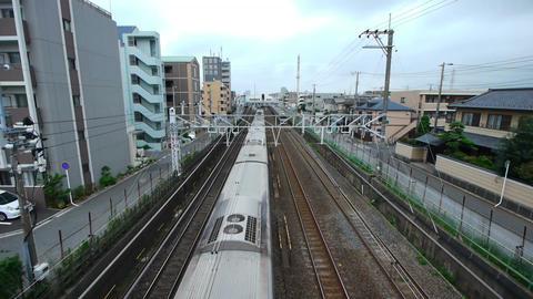 電車 stock footage